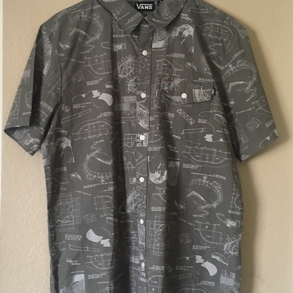 Vans Other - Men's Vans collared shirt